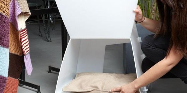 niche pour chat comment en fabriquer une. Black Bedroom Furniture Sets. Home Design Ideas
