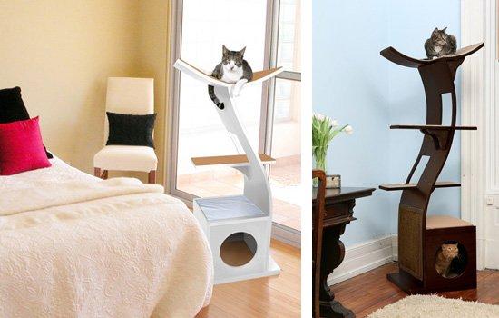 Les bonnes raisons d 39 avoir un arbre chat design - Tuto arbre a chat ...